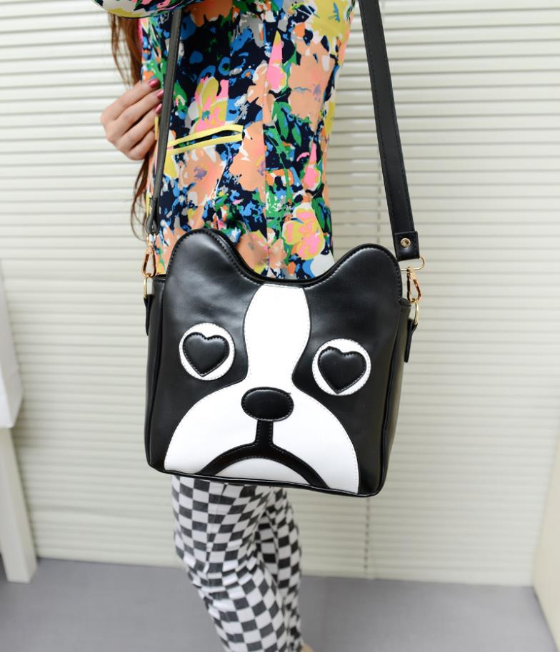 2015 manufacturers selling new cute cartoon dog Messenger Shoulder Bag tide(China (Mainland))