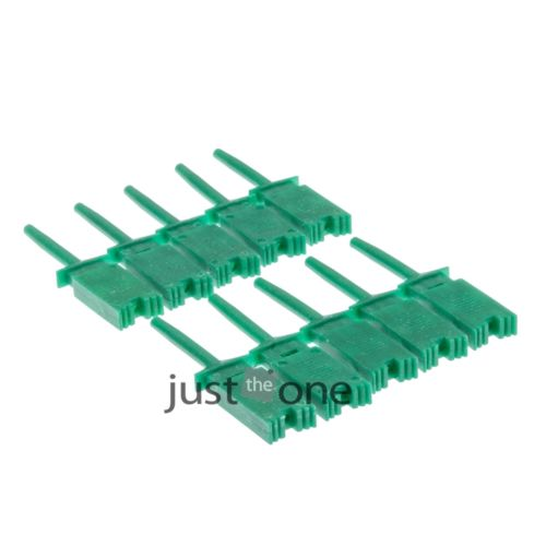 New 10 PCS Green Logic Analyzer Test Clip Mini Grabber SMD IC Hook Probe Jumper(China (Mainland))