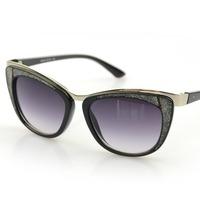 Fashion 2015 New Sunglasses Women Diamond Cat Eye Sun Glasses Oculos De Sol Feminino Gafas Steampunk Vintage Female Glasses