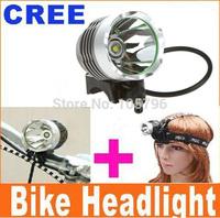 2 in 1 high power 1600 lumen cree led bike light with 8.4v 8800mAh battery powered