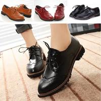 New 2015 Women Flats Shoes Zapatos Mujer Pu Leather Moccassins Platform Shose Maternity Sapatos Femininos Black Casual Shoe