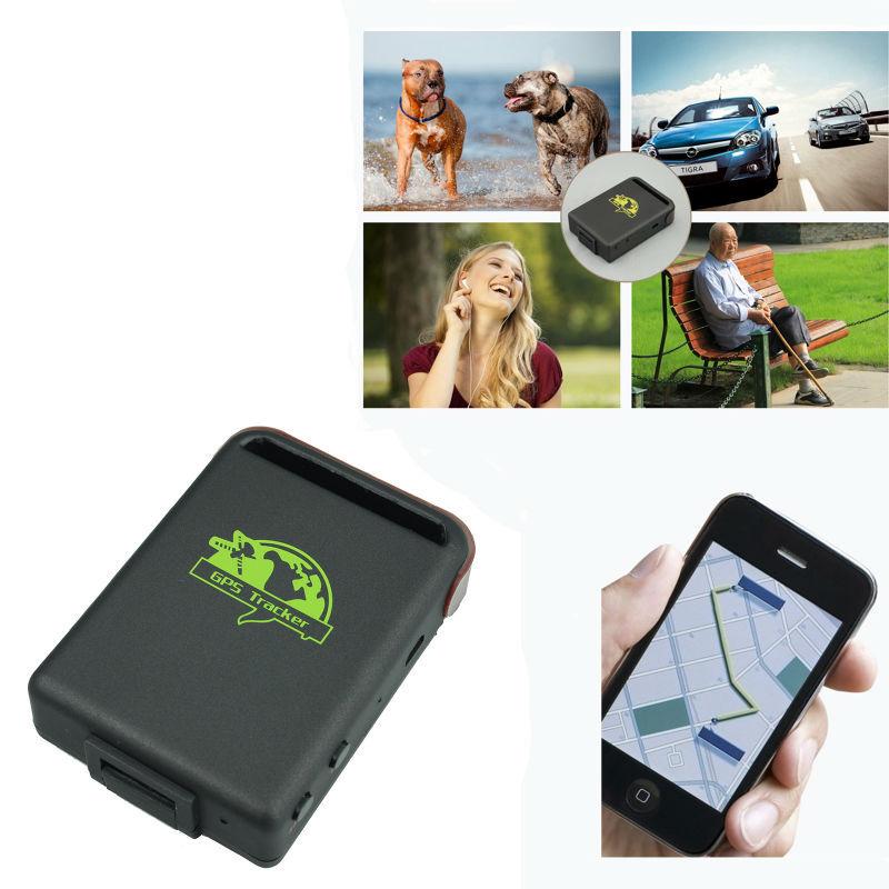 Spy Vehicle Real Time Tracker GPS/GSM/GPRS Car Vehicle Tracker TK102 MINI TRRACK rastreador veicular(China (Mainland))