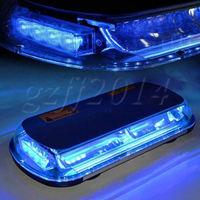 Details about 44 LED Emergency Warning Flashing LED Top Roof Strobe Light Bl