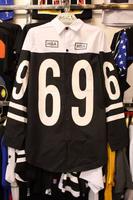 Hood By air HBA 69 Black and White Casual Dress Shirt Men's Casual Shirt