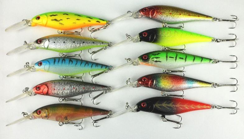 виды искусственных наживок для рыбалки