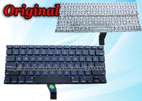 "Original Keyboard For Apple Macbook AIR 13"" 13.3"" A1369 A1466 Keyboard US English Laptop 2011 2012 Black Free Shipping"