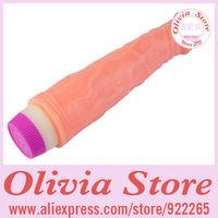 Affordable Women's Masturbation Dildo with Strong Vibration Function,22cm Long 3.8cm Girth,Effective Masturbator,Sex Toy