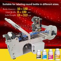 date coder MT-50 Semi-Auto Round Bottle Labeller / adhesive sticker/ bottle labler, 25 pcs/m