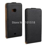 1PCS  Vertical Flip Genuine Leather Cover Case for Nokia Lumia 535 For Microsoft Lumia 535  Leather Case