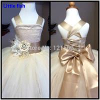 Free shipping Flower girl dresses for weddings Pageant dresses for girls glitz 2-11 age