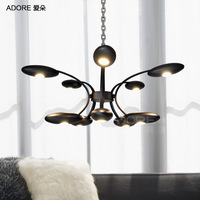 Adore [ American ] modern minimalist living room bedroom creative artistic personality LED chandelier lamp stylish restaurant