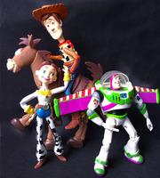 Toy Story figures toy doll 4 pcs set Cartoon & Anime Woody Jessie Buzz Lightyear Bulleye