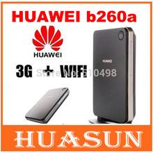 Unlocked Huawei B260a HSPA 3G Wifi Router 3G wireless hotspot with external antenna port (China (Mainland))