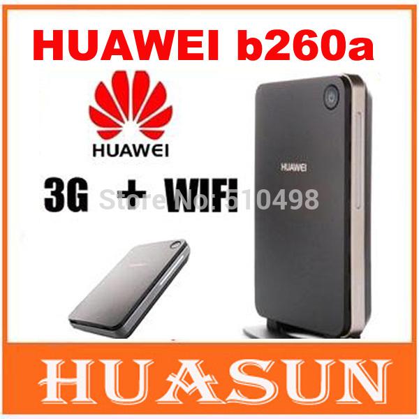 Unlocked Huawei B260a HSPA 3G Wifi Router 3G wireless hotspot with external antenna port(China (Mainland))