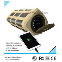 Sinoband S400 Wireless stereo mini hifi portable boombox outdoor speaker subwoofer loudspeakers boombox