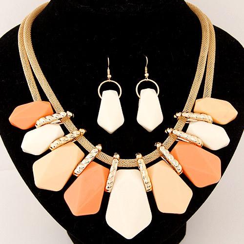 Statement Necklace Fashion for Women 2015 choker female set long gold big chain Vintage Necklaces Pendants