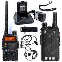 Pofung UV-5R VHF/UHF Dual Band 136-174/400-520MHz 5W FM Ham Two Way Radio LB0569