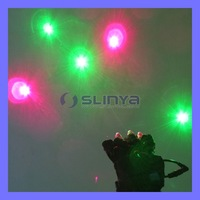 Disco Red Green Laser Glove for DJ Club Party Stage Show  200mw 405nm Laser Gloves
