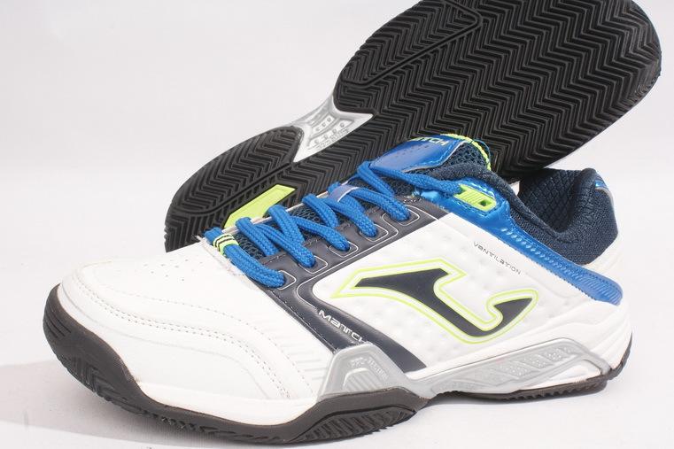 Двойная корона торговля магазин рекомендуется * испания первый спортивный бренд профессиональной теннисной обувь белый / синий
