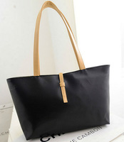 DHL FEDEX EMS Free Shipping Black Leather Fashion Luxury Lady Ladies Women Woman Shoulder Handbag Bag 100pcs/lot