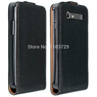 Ultra Thin Vertical Flip Cases For Samsung Galaxy S Advance/i9070 Genuine Leather Luxury Up and Down Open Flip Case