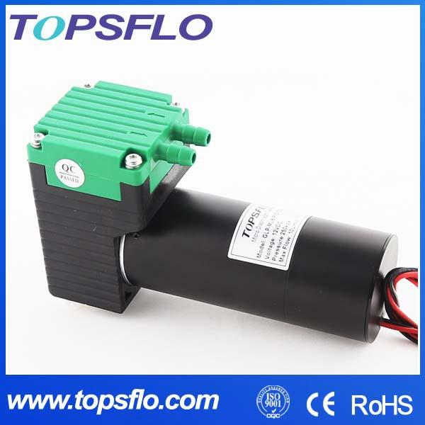 Topsflo TM40-E High pressure diaphragm brushless dc 12v ultrasonic cavitation system aesthetic device air compressor pump(China (Mainland))