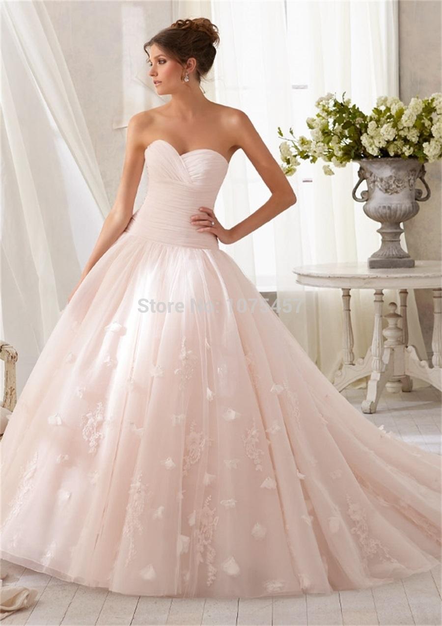 Blush Pink Wedding Dresses For  : Blush pink wedding dresses buy cheap