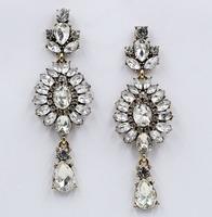 New 2014 fashion jewelry hot sale women crysta earrring , statement stud Earring