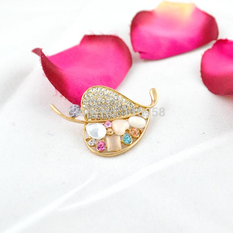 2015 Collar for Casioness Watch Alargador De Orelha Factory Direct High-grade Diamond Brooch Opal Fashion Accessories Sweet Gif(China (Mainland))
