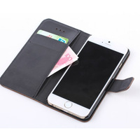 """Wallet Style With Stand Flip Leather Stand Case For iPhone 6 6G 4.7"""" Phone Bag Cover Card Holder Brand New Wholesale IP6-4707"""