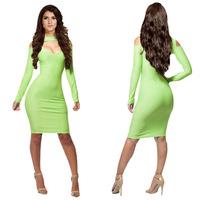 2014 new  Hot  fashion evening  bandage dress solid   bodycon  sleeveless  party dresses sexy  women clothing  KM038