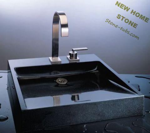 Online kopen wholesale zwart graniet badkamer uit china zwart graniet badkamer groothandel - Zinkt de verkoop ...