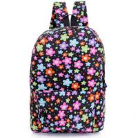 Mochila floral cute women backpack preppy style school bags for girls casual rucksack travel bags mochila feminina
