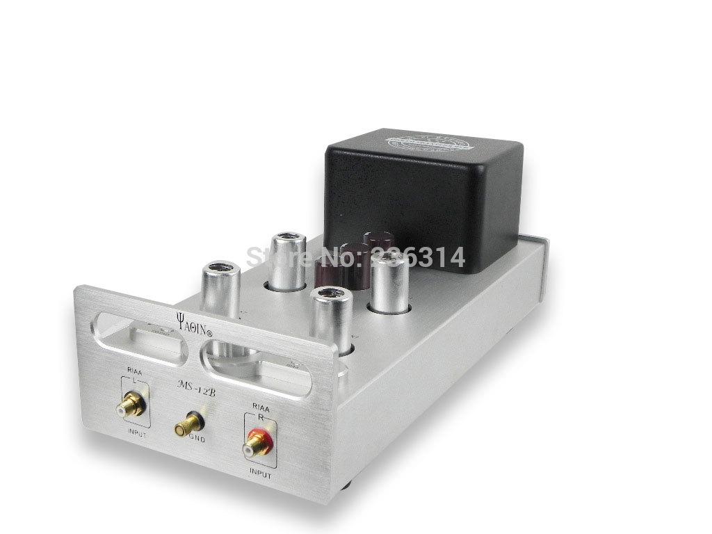 Ms 12b hifi amplificateur st r o tube amplificateur pr amplificateur phono et - Amplificateur pour platine vinyle ...