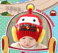 50 pcs/lot DHL Free Shipping Comfortable lovely children's baby earmuffs plus winter warmer velvet hat