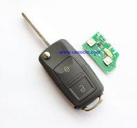 VW old Passat 2 button folding remote key 434mhz model: 1J0959753DJ