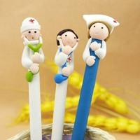 Doctors and nurses Souvenirs/Nurses Day Gift/Fimo gift pen/Hospitals and clinics gifts/Nurse Pen