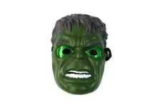 LED Glowing Lighting Mask Captain America Spider-Man Hulk Iron Batman Masquerade Party Halloween Cosplay Mask