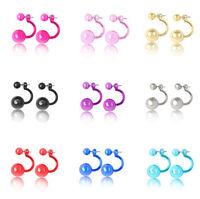 Hot Sale Double Pearl Earrings For Women Big Pearl Earrings Stud Earrings Women Fashion Jewelry PE010