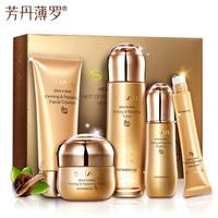 Golden Snail Firming Repair Cream Face Care Acne Anti wrinkle Whitening Moisturizing Face Eye cream 5 pcs
