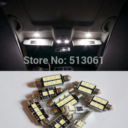 Лампа для чтения Ouou 8 SMD Canbus VW Golf 4 IV 1J1 1J5 лампа для чтения iculed 9pcs canbus vw passat 3c