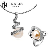 S149 Factory 18K Gold Plated Austrian Crystal Nickel and Lead Free Jewelry Sets For Women Wedding Party