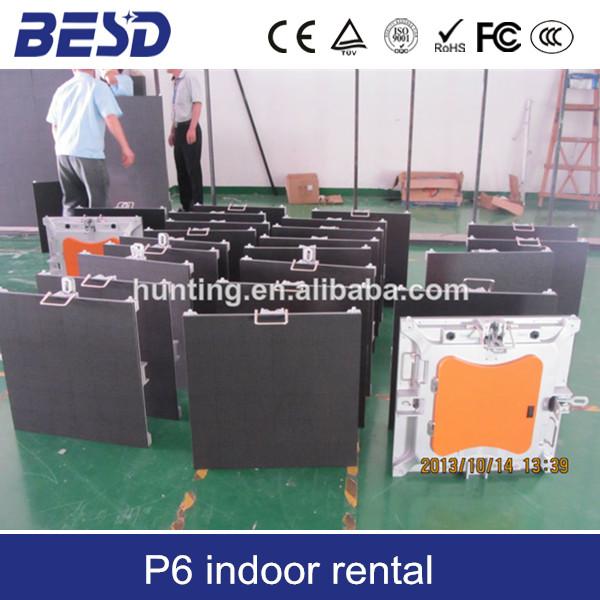 Shenzhen factory direct sale indoor P5 rental led display/hd rental indoor led display screen(China (Mainland))