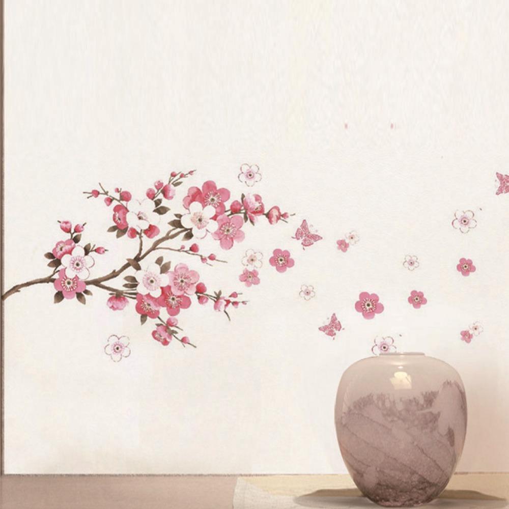 Сакура из бумаги на стену