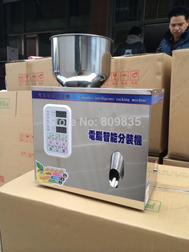 2-100g Multifunctional tea packaging machine,salt,tablet,herb,seed weighing machine,powder packing machine(China (Mainland))