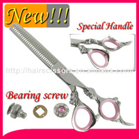 """2015 newest Professional Hair Shears sword blade with dragon carving handle and Bearing screw 6.0"""""""