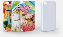 12pcs 3D Blank I Phone 4/4S Case Cover Pressed by 3D Sublimation Heat Press Machine
