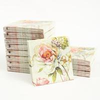 [12 packs]100% virgin wood pulp food-grade printed paper napkins wedding paper napkin colorful tissue paper serviette-4NC1933B