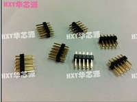 Free Delivery Double row spacing of 2.54mm 2*5P double row straight needle(100pcs)