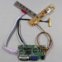 DVI+VGA lcd controller board RT2261 work for 14.1inch LP141WX1 QD14TL02 1280*800 lcd panel